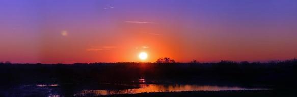 Sunset on the Prairie