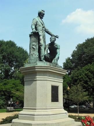 2017.07.22 Lincoln Park Emancipation Memorial 2
