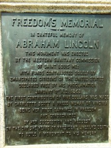 2017.07.22 Lincoln Park Emancipation Memorial 3