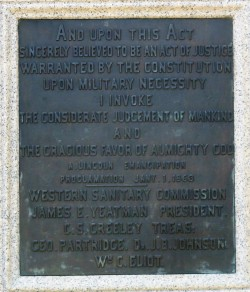 2017.07.22 Lincoln Park Emancipation Memorial 4