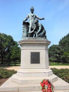 2017.07.22 Lincoln Park Emancipation Memorial 7