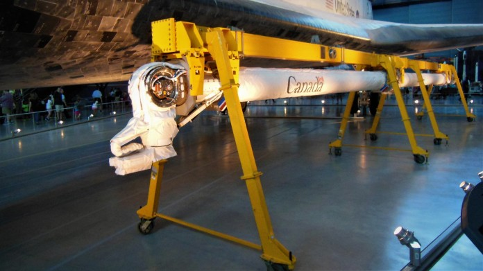 The Discovery's Canadarm