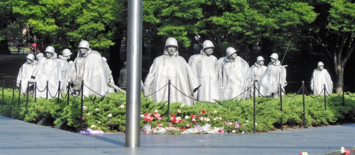 2017.07.24 DC Day Trip Korean War Memorial 14