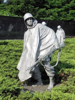 2017.07.24 DC Day Trip Korean War Memorial 17