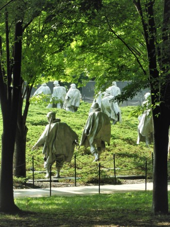 2017.07.24 DC Day Trip Korean War Memorial 2