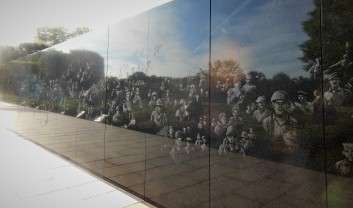 2017.07.24 DC Day Trip Korean War Memorial 7
