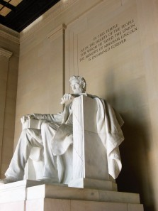 2017.07.24 DC Day Trip Lincoln Memorial 16