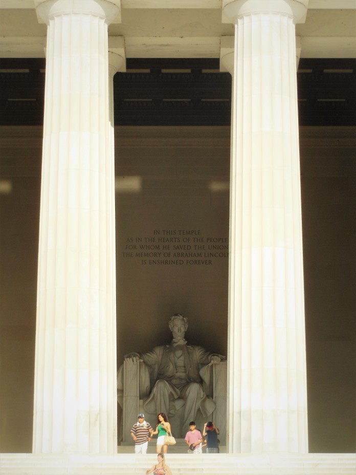 2017.07.24 DC Day Trip Lincoln Memorial 4