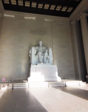2017.07.24 DC Day Trip Lincoln Memorial 7