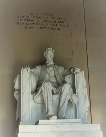 2017.07.24 DC Day Trip Lincoln Memorial 8