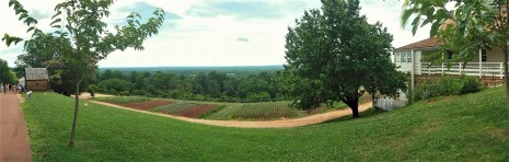 2017.06.25.Monticello TJ's Mulberry Row (slavery quarters)