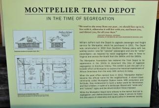 2017.07.15 Montpelier Train Depot Signage 1a