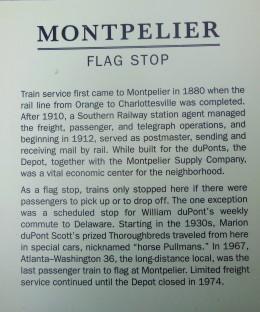 2017.07.15 Montpelier Train Depot Signage 3a