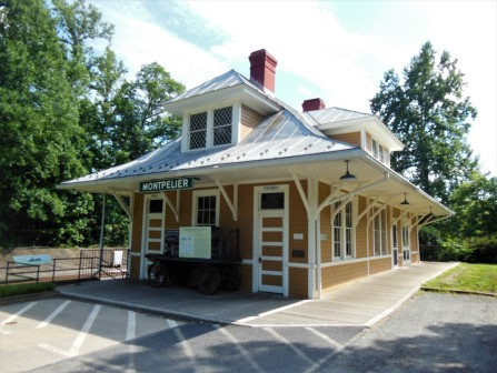 2017.07.15 Montpelier Train Depot The Depot