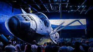 2019.01.18 Kennedy Space Center Atlantis 1 art