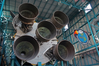 2019.01.19 Kennedy Space Center Saturn V Stage 1 2