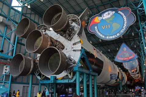 2019.01.19 Kennedy Space Center Saturn V Stage 1 3