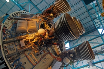 2019.01.19 Kennedy Space Center Saturn V Stage 2 3