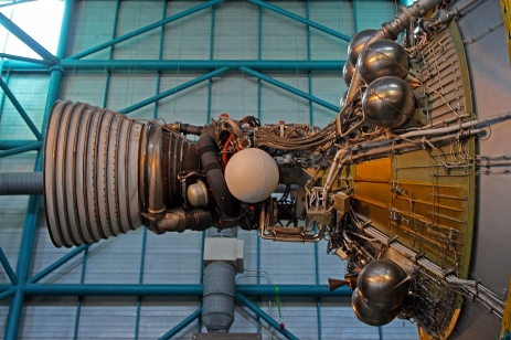 2019.01.19 Kennedy Space Center Saturn V Stage 3 2